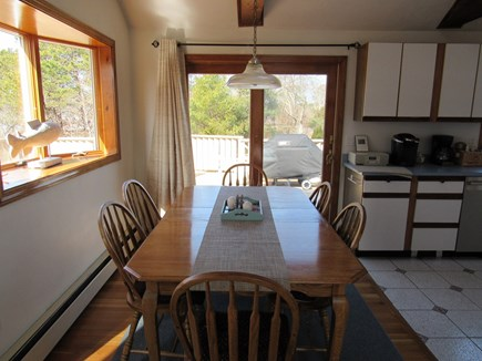West Dennis Cape Cod vacation rental - Dining Area Cathedral Ceiling and Skylight