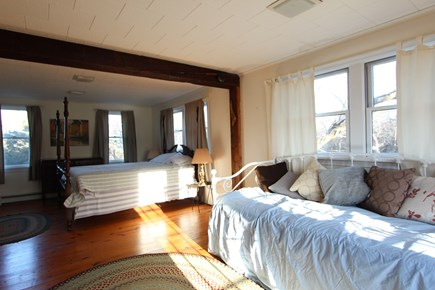 Eastham Cape Cod vacation rental - Large ground floor BR with queen and daybed / twins / king bed.