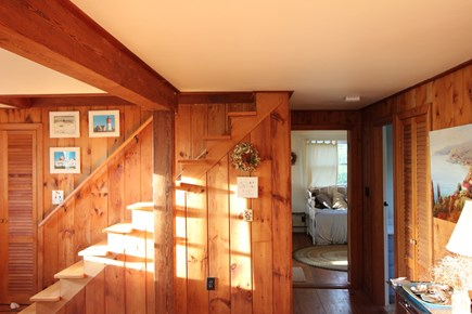 Eastham Cape Cod vacation rental - Cozy wood interior, a traditional old Cape home.