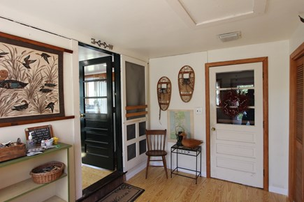 Eastham Cape Cod vacation rental - Mudroom entry at kitchen end of home to collect your beach gear