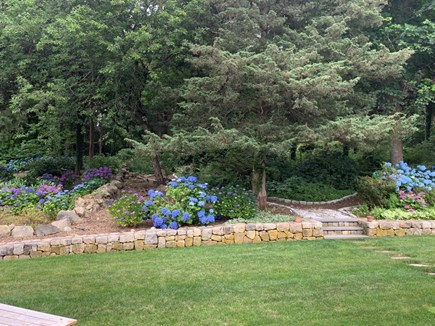 Orleans Cape Cod vacation rental - Backyard gardens with walking paths