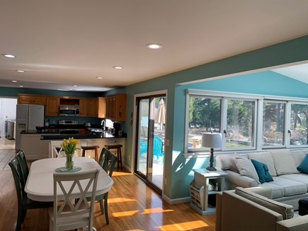 Orleans Cape Cod vacation rental - Sun filled open kitchen, eating and entertainment area