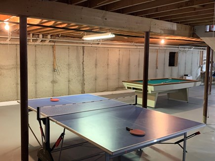 Orleans Cape Cod vacation rental - Play some pool or ping pong in the clean basement