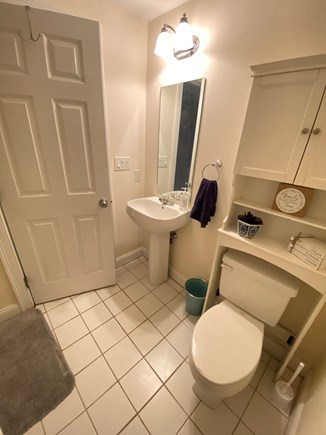 Hyannis Cape Cod vacation rental - Downstairs Bathroom