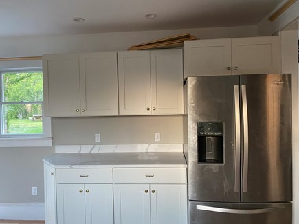 Dennis Cape Cod vacation rental - New kitchen off from Dining room with prep area