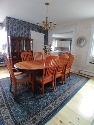 Dennis Cape Cod vacation rental - Dining room off from the kitchen