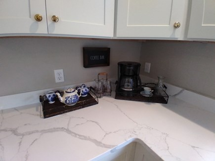 Dennis Cape Cod vacation rental - Coffee and Tea Station