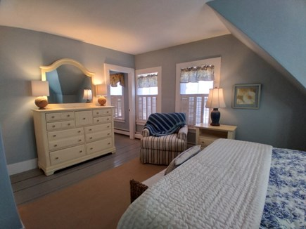 Dennis Cape Cod vacation rental - The Captains Quarters, King size bed with master bathroom