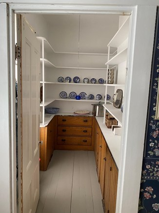 Dennis Cape Cod vacation rental - Pantry with lots of storage for food, wine etc