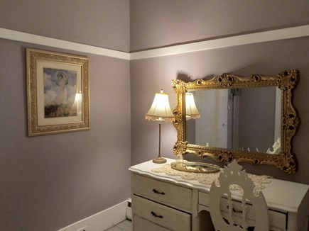 Dennis Cape Cod vacation rental - Downstairs Dressing room off bedroom and bathroom