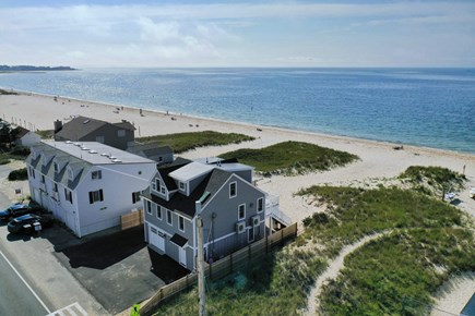 Centerville, Craigville Beach Road Cape Cod vacation rental - Sky view drone footage.