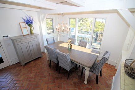 Wellfleet Cape Cod vacation rental - Lovely dining room just off kitchen in main house
