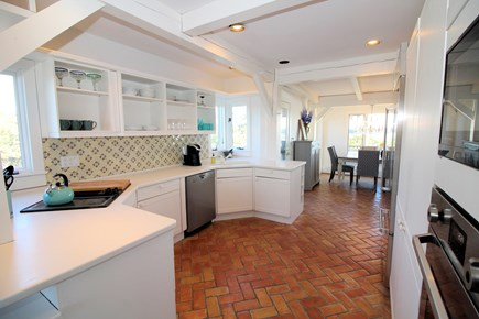 Wellfleet Cape Cod vacation rental - Bright and nicely equipped kitchen in main house