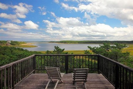 Wellfleet Cape Cod vacation rental - Gorgeous view from third floor balcony