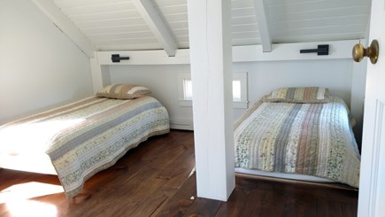 Wellfleet Cape Cod vacation rental - First floor bedroom with two twins