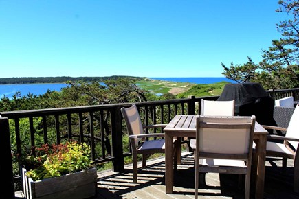 Wellfleet Cape Cod vacation rental - Spectacular water views from the deck