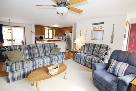 Eastham Cape Cod vacation rental - Bright and open main living space