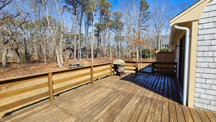 Eastham Cape Cod vacation rental - Nice deck with two gated entries, furniture and gas grill