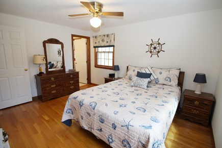 Eastham Cape Cod vacation rental - Master bedroom with queen and en suite bathroom