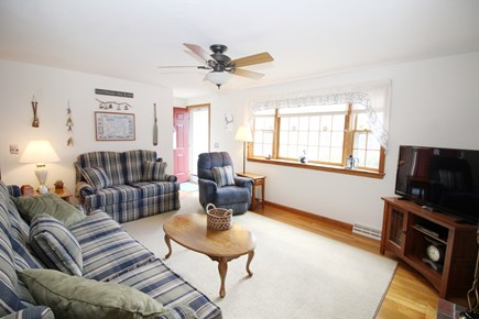 Eastham Cape Cod vacation rental - Living room with comfortable seating and flat screen TV
