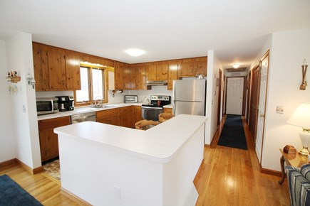 Eastham Cape Cod vacation rental - Nicely equipped kitchen with large island