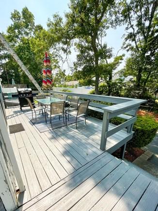 Popponesset Cape Cod vacation rental - Back deck