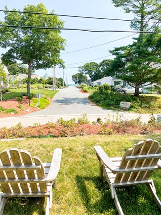 Popponesset Cape Cod vacation rental - Outside sitting area, water view