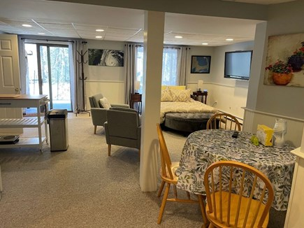 Eastham Cape Cod vacation rental - Open living space w/lots of natural light w/sliders to new patio!