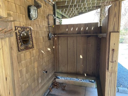 Eastham Cape Cod vacation rental - Extra large outdoor shower