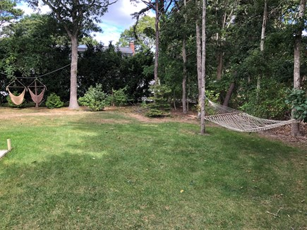 East Falmouth Cape Cod vacation rental - Read or relax on one of several comfy hammocks