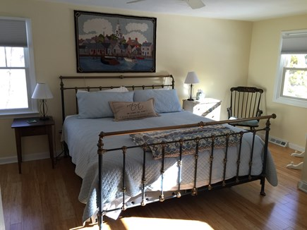 East Falmouth Cape Cod vacation rental - 1st floor Mstr. BR w/King Size Sleep # bed and private bath