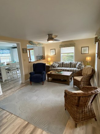 New Seabury Cape Cod vacation rental - Living room open to kitchen