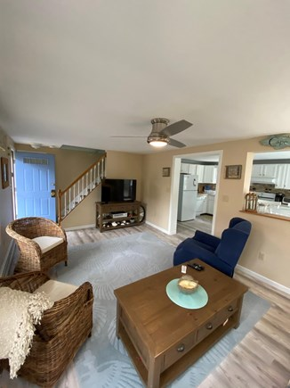 New Seabury Cape Cod vacation rental - Living room with Flat Screen TV