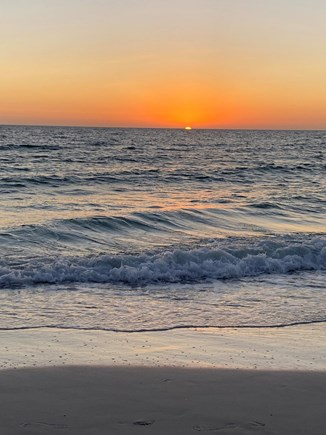 New Seabury Cape Cod vacation rental - Sunset at the Beach