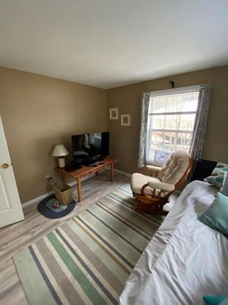 New Seabury Cape Cod vacation rental - Bedroom/Den with TV on first floor.