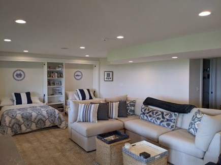 Dennis Cape Cod vacation rental - Full walkout lower level with 2 full size murphy beds