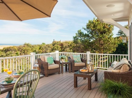 Dennis Cape Cod vacation rental - Huge oceanview deck