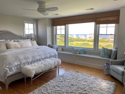 Dennis Cape Cod vacation rental - Oceanview master bedroom with king bed and lovely bath