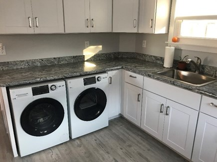 Plymouth MA vacation rental - Convenient washer & dryer.
