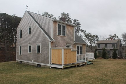 Wellfleet, Lecount Hollow - 3950 Cape Cod vacation rental - Backyard and outdoor shower