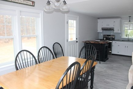 Wellfleet, Lecount Hollow - 3950 Cape Cod vacation rental - Open kitchen and dining