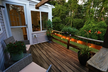 Harwich Retreat Cape Cod vacation rental - Outdoor seating area
