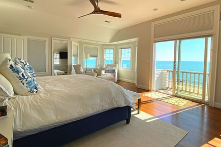 Paradise on Popponesset Cape Cod vacation rental - Upstairs Main bedroom with Views