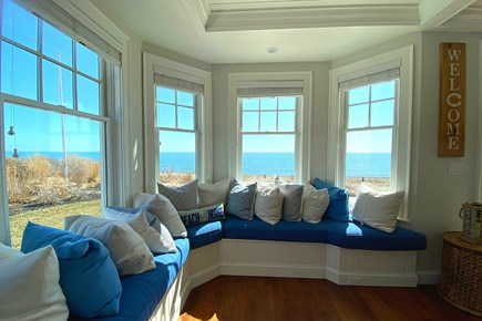 Paradise on Popponesset Cape Cod vacation rental - Sitting Area - Watch the Tide Come and Go