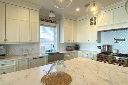 Paradise on Popponesset Cape Cod vacation rental - Chef's kitchen!