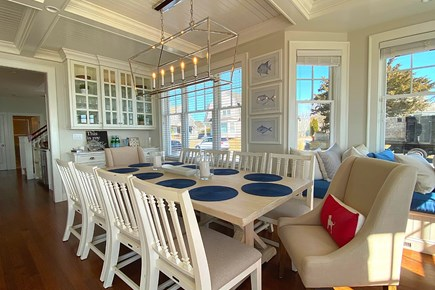 Paradise on Popponesset Cape Cod vacation rental - Large Dining Area