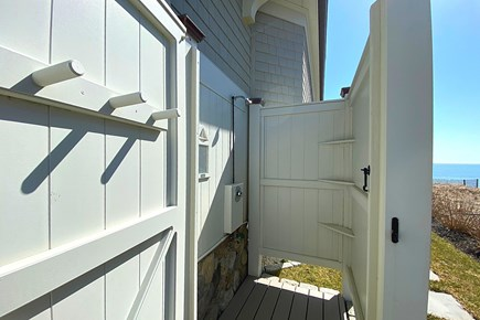Paradise on Popponesset Cape Cod vacation rental - Outdoor Shower