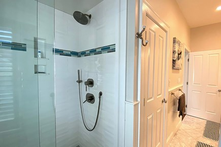 Paradise on Popponesset Cape Cod vacation rental - Shower for shared Bathroom