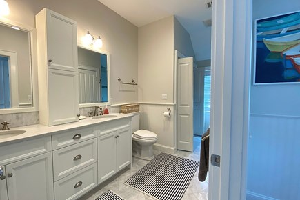 Paradise on Popponesset Cape Cod vacation rental - Bathroom which is shared with Two Bedrooms
