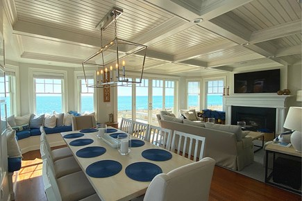 Paradise on Popponesset Cape Cod vacation rental - Dining Area with Views